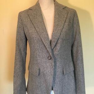 Gap gray wool blazer. Like new!